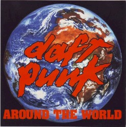 Daft Punk Around The World (Kid Dub Remix) Artwork